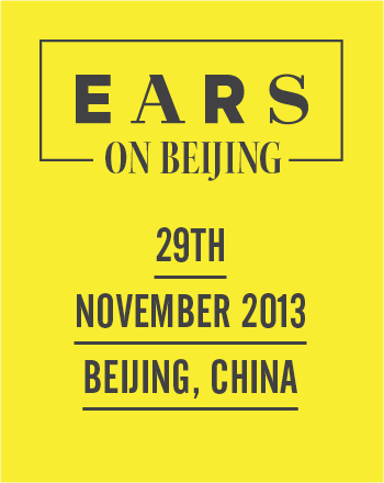 EARS on Beijing – 29th of November 2013
